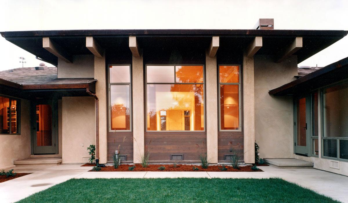 woodside residence - facade