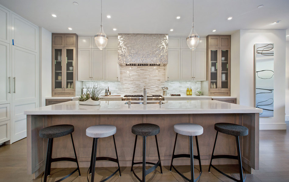 Pacific Heights Modern Luxury Kitchen Stools