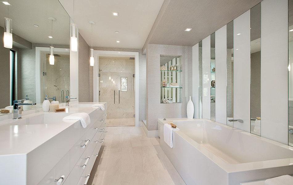 Indoor-Outdoor Living master bath