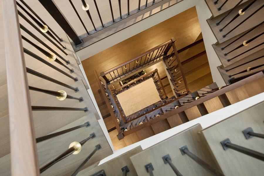 Indoor-Outdoor Living Stairs
